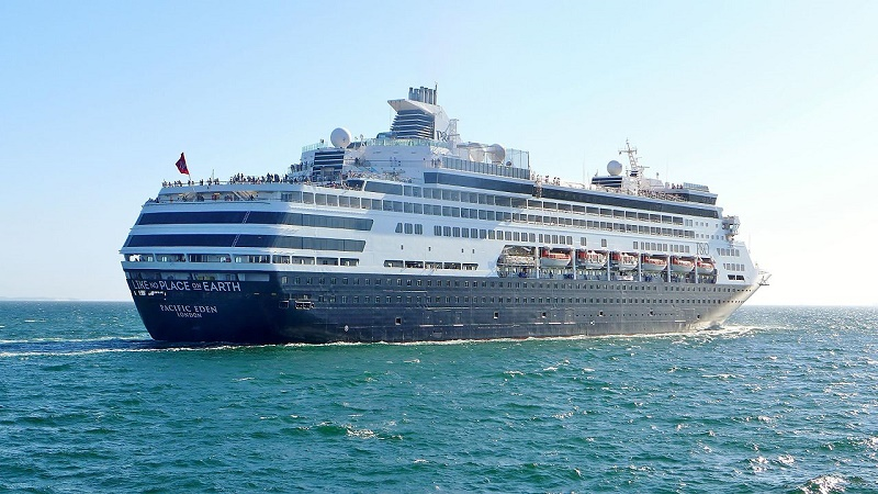 Pacific Eden venduta a Cruise & Maritime Voyages
