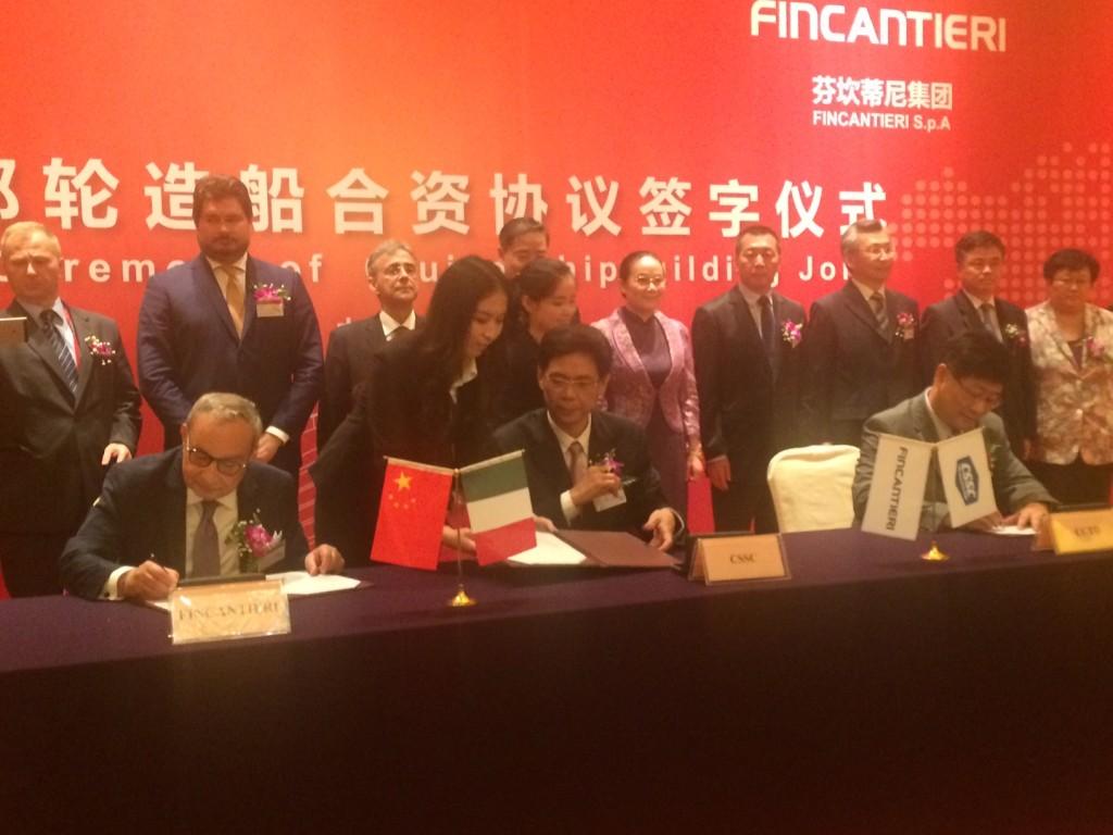 Fincantieri Cina