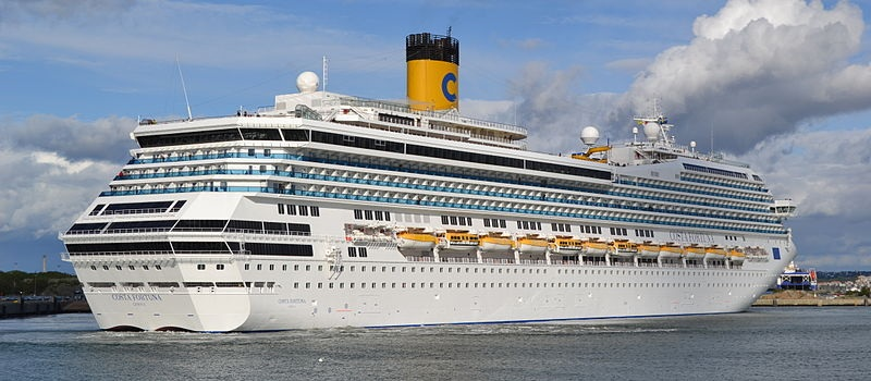 Un'altra nave Costa lascia la Cina per tornare nel Mediterraneo