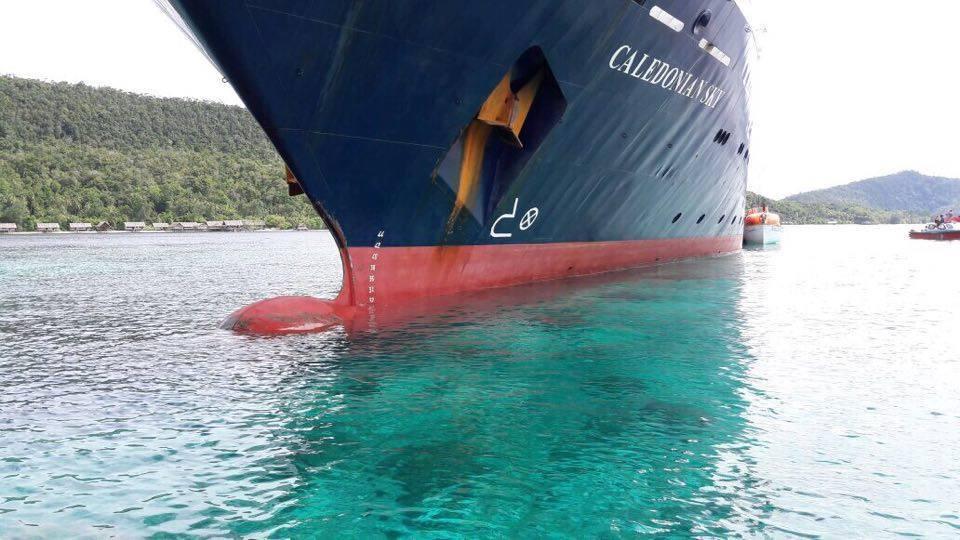 Maxi multa da 400 milioni di euro a Noble Caledonia per l'incidente a Raja Ampat