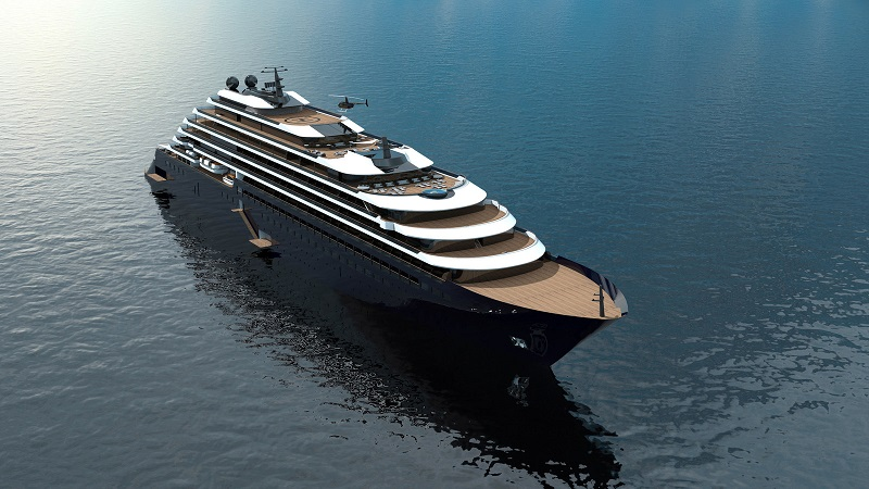 Posata la chiglia del primo megayacht The Ritz-Carlton Yacht Collection