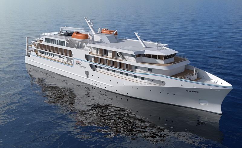 Coral Expeditions ordina a VARD la sua nuova ammiraglia