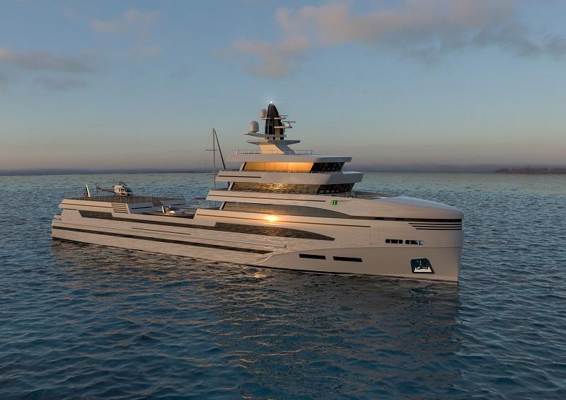 Rosetti Superyachts svela i dettagli del suo 85 metri expedition supply vessel concept