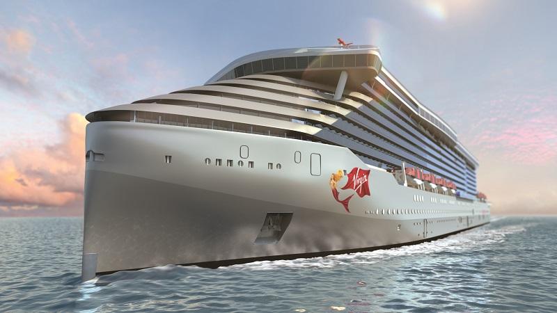 Virgin Voyages presenta i rendering delle aree interne ed esterne delle sue navi