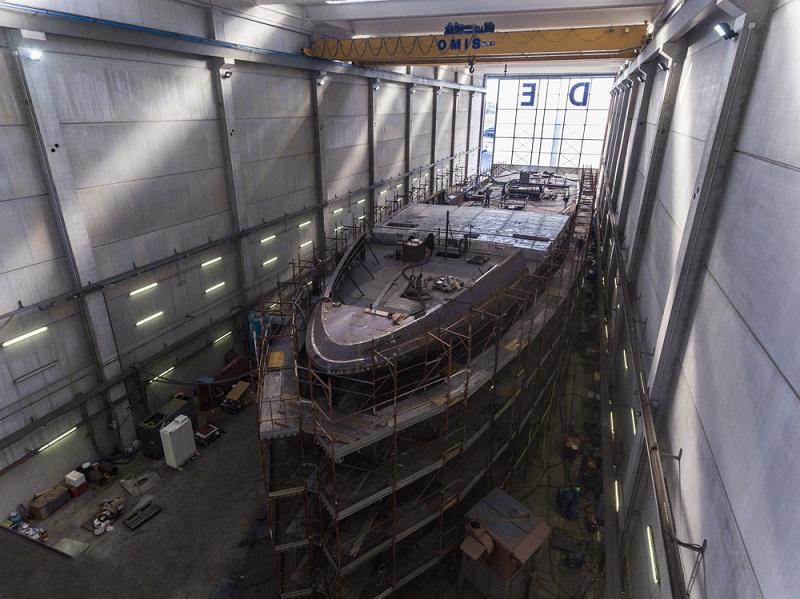 Codecasa avvia la costruzione di un nuovo 65 metri