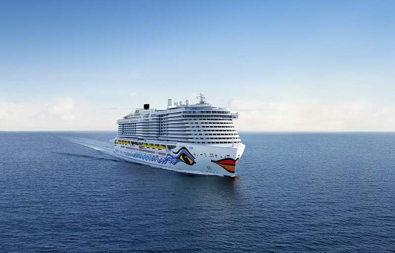 Carnival Corporation announced it has signed a shipbuilding contract for a third next-generation LNG cruise ship for its rapidly growing AIDA Cruises brand, the leading cruise line in Germany. (PRNewsfoto/Carnival Corporation & plc)