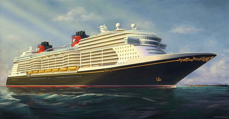 Disney Cruise Line svela il primo rendering della nuova serie di navi