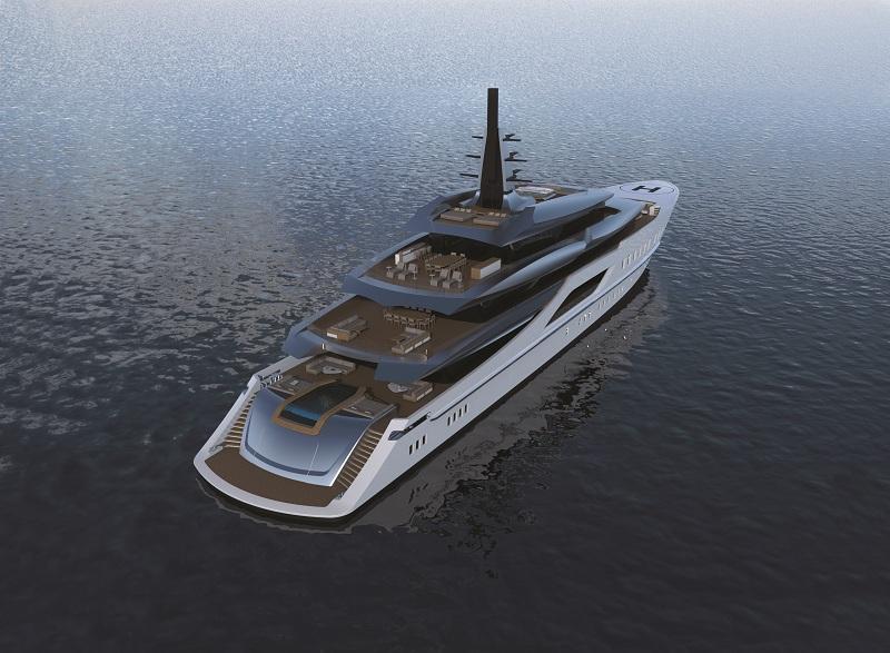 Il design e l'engineering del nuovo progetto Tankoa S801 prendono forma