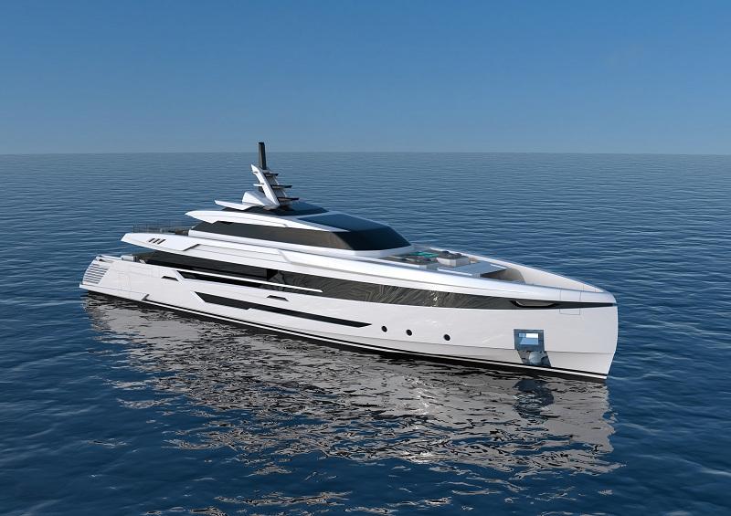 Palumbo Superyachts vende il nuovo 50 metri a marchio Columbus Yachts