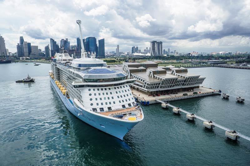 Royal Caribbean posizionerà la Quantum of the Seas a Singapore nel 2019
