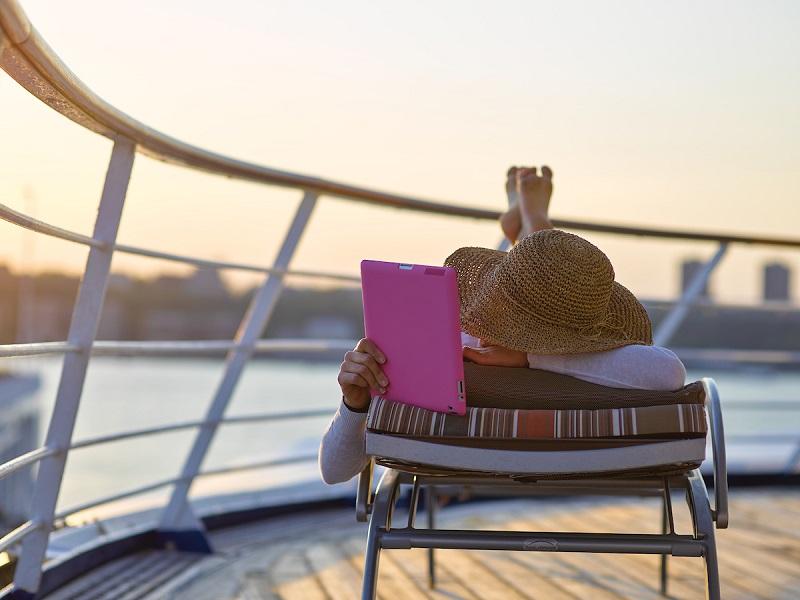 Internet gratis e senza limiti a bordo delle navi Silversea