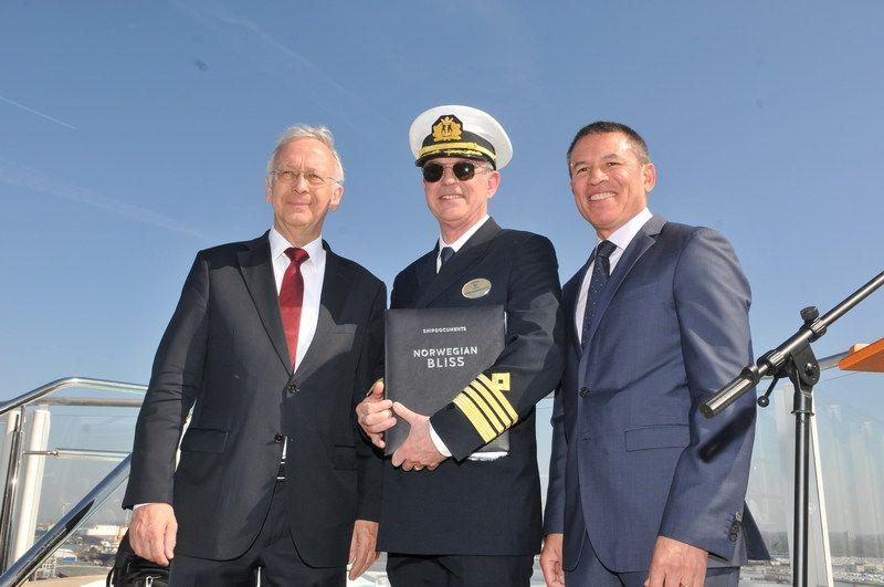Norwegian Cruise Line prende in consegna la Norwegian Bliss