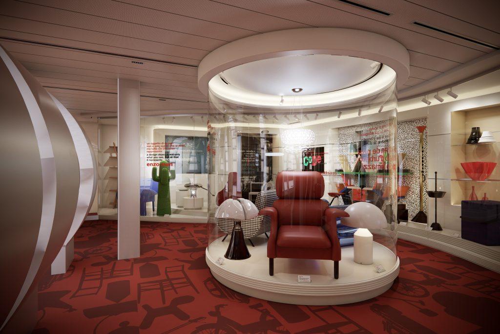 Costa Crociere presenta il museo del design a bordo di Costa Smeralda