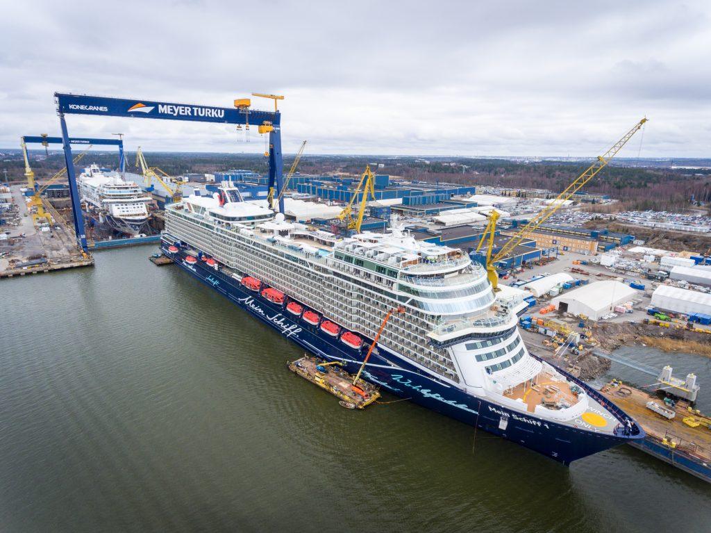 Meyer Turku consegna la nuova Mein Schiff 1