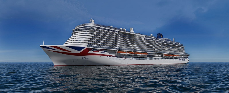 P&O Cruises presenta le novità della futura ammiraglia Iona