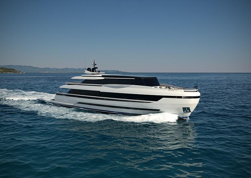 Venduto il nuovo Extra 126′ by ISA Yachts