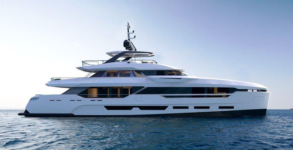 CCN presenta il nuovo progetto DOM123, uno yacht pensato per l'armatore giovane e moderno.
