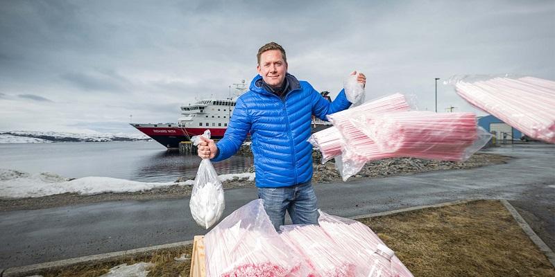 Hurtigruten mette al bando la plastica monouso