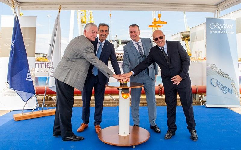 Ad Ancona al via i lavori in bacino per Seven Seas Splendor