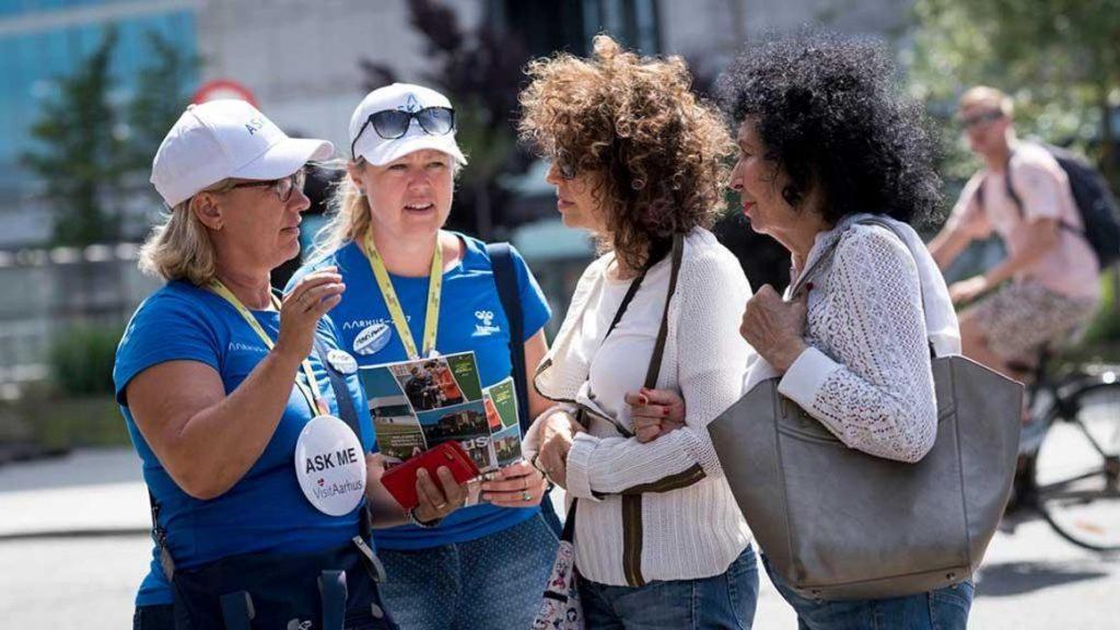 1300 volontari ad Aarhus per dare il benvenuto ai crocieristi