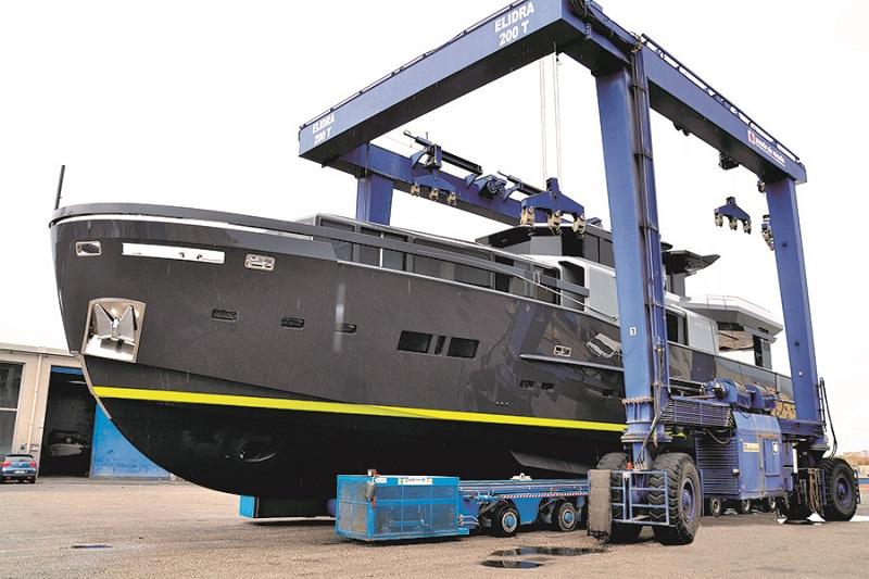 Arcadia Yachts consegna una nuova unità dell'A105