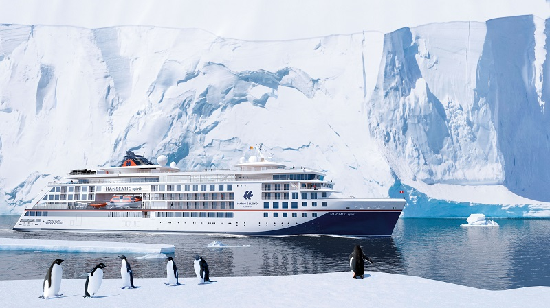 TUI Group ordina HANSEATIC spirit, terza nave di classe Hanseatic per il brand Hapag-Lloyd Cruises