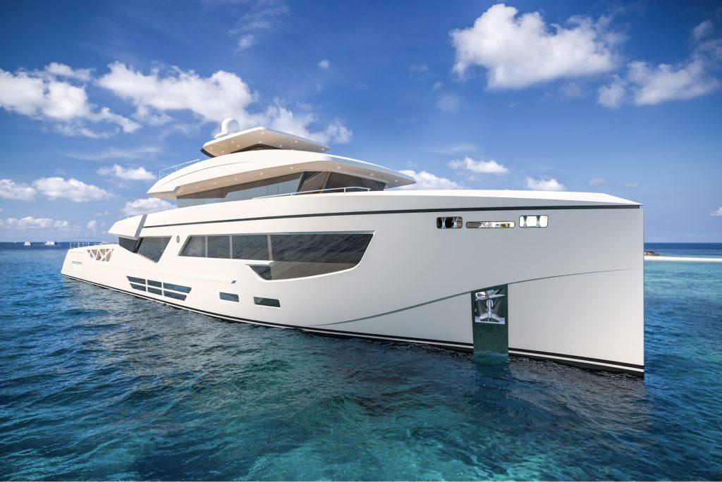 Rosetti Superyachts presenta il concept del nuovo 52 metri Supply Vessel