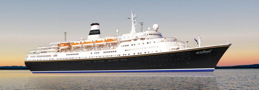 Storylines, la start-up che recupera le vecchie navi da crociera per convertirle in residence naviganti