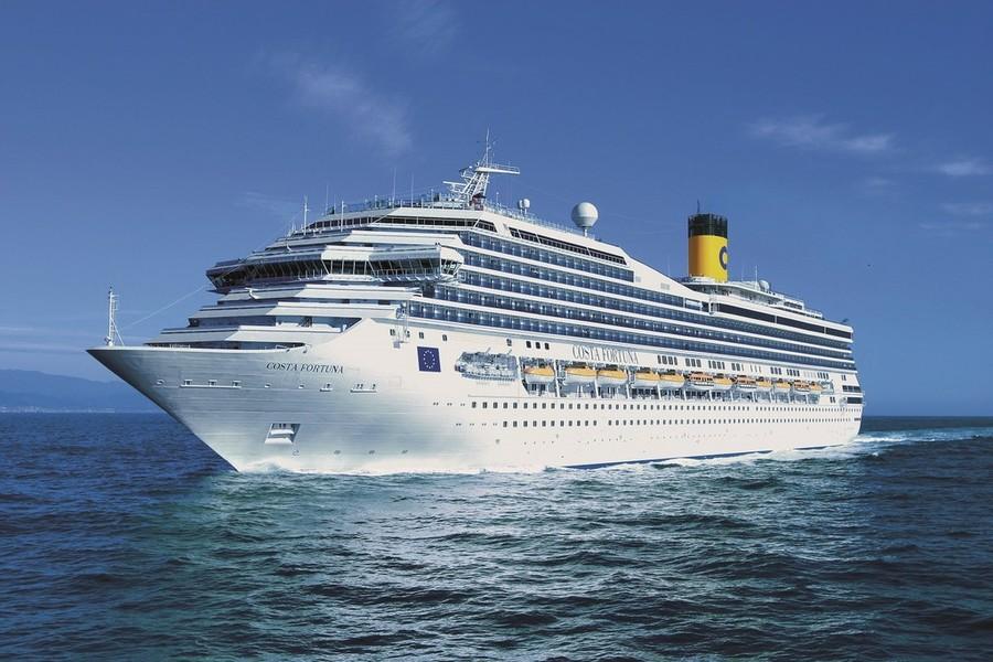 Costa Fortuna: nuovo look per il rientro in Europa