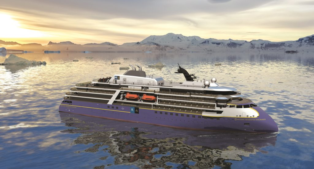 Lindblad Expeditions esercita l'opzione per una seconda nave X-BOW