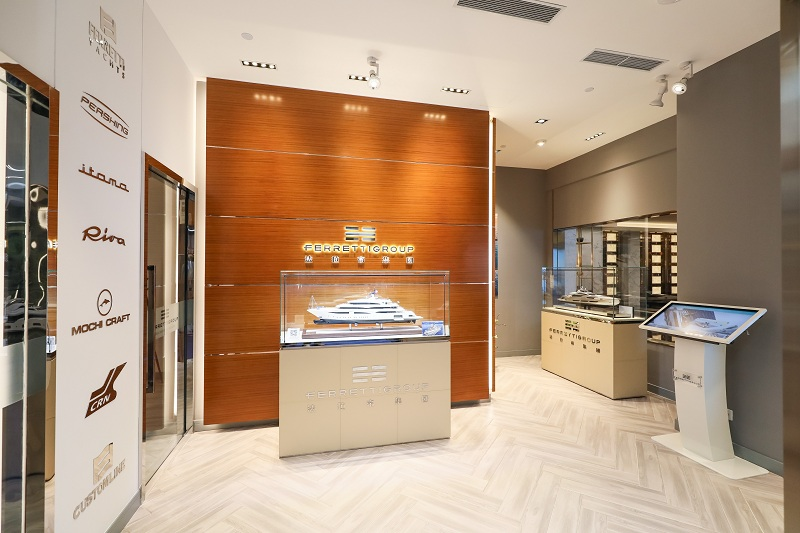 Ferretti Group apre un nuovo showroom a Shanghai