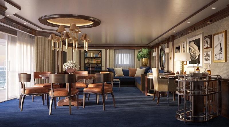Restyling di Marina e Riviera: le nuove Owner's Suite di Oceania Cruises saranno firmate Ralph Lauren Home