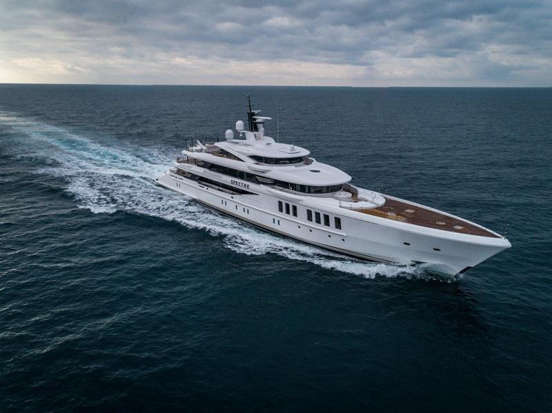 Videoworks rivela i dettagli delle moderne tecnologie  a bordo del megayacht Benetti Spectre