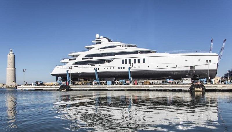 """Benetti vara M/Y """"Metis"""", yacht full custom di 63 metri"""