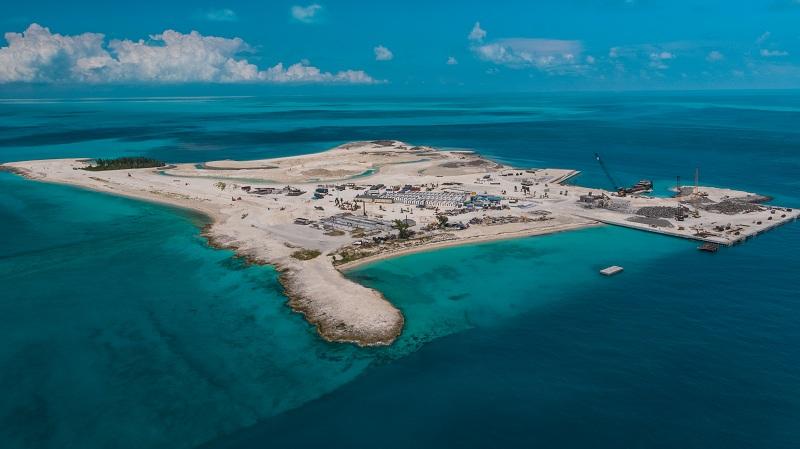 Parte la fase finale dei lavori su Ocean Cay, l'esclusiva isola caraibica riservata ai crocieristi MSC