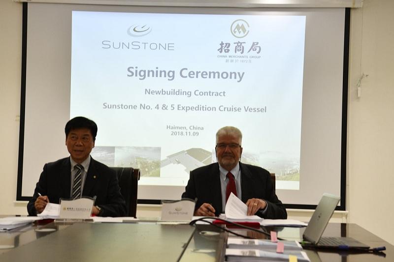 SunStone esercita l'opzione per la costruzione di altre due navi di classe Infinity