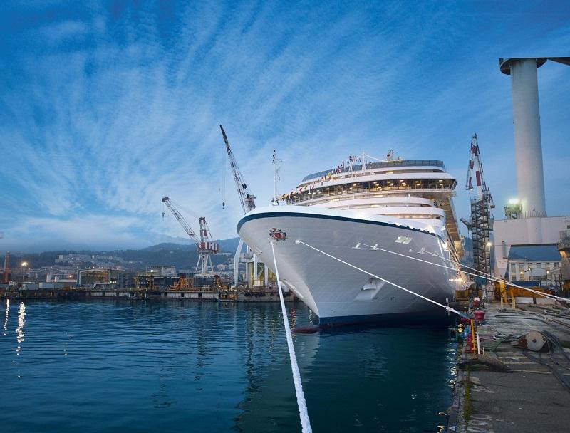 Norwegian Cruise Line Holdings ordina a Fincantieri due nuove navi per Oceania Cruises
