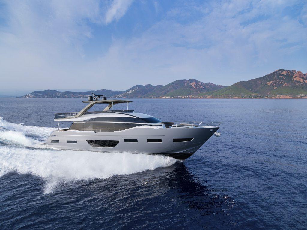 Princess Y85: velocità, stile e lusso firmato Olesinsiki e Pininfarina