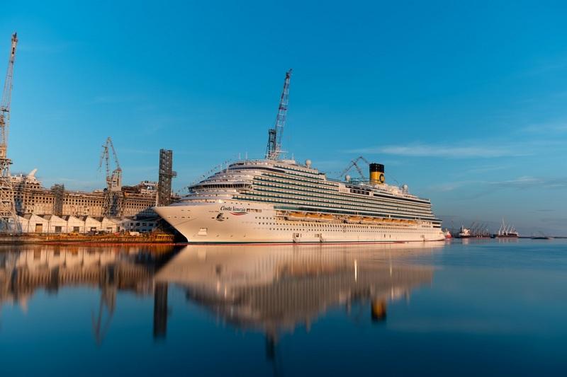 Entra in servizio Costa Venezia, la prima nave di Costa Crociere progettata per il mercato cinese