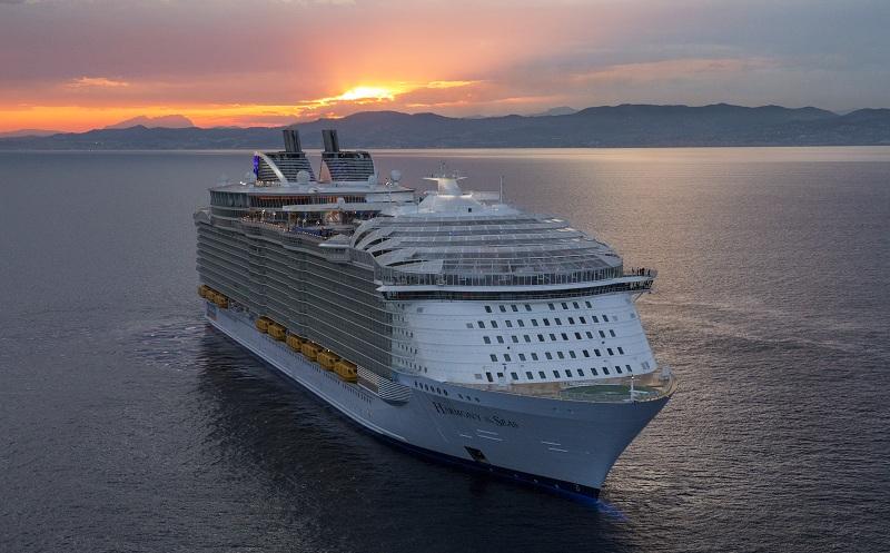 Royal Caribbean prolunga fino all'11 maggio la sospensione dell'attività crocieristica