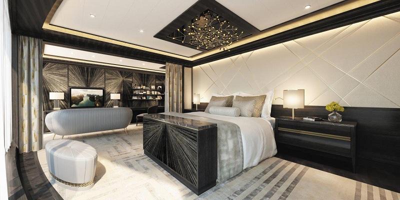 Regent Suite, la residenza più lussuosa dei mari