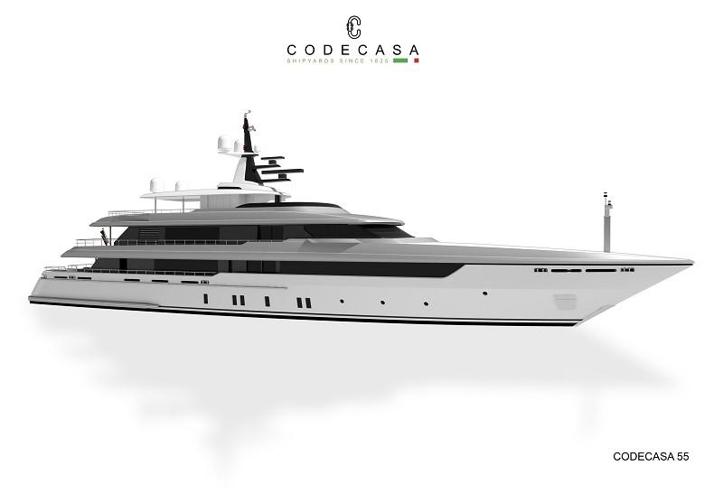 Codecasa avvia la costruzione di un 55 metri totalmente custom