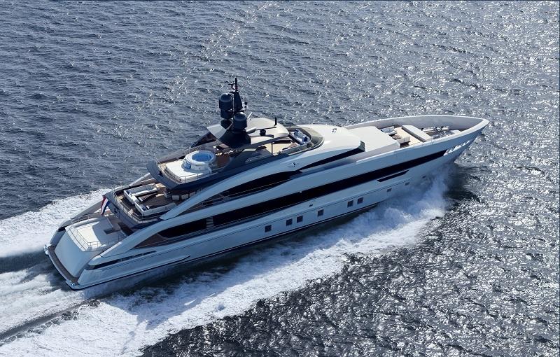 Heesen presenta Project Aquamarine, primo yacht della nuova classe 5000 Aluminium