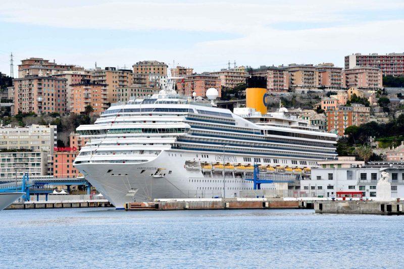 Costa Crociere ritorna nel porto di Genova