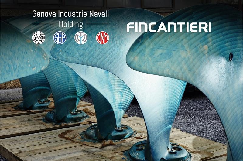 Fincantieri entra nell'azionariato di Genova Industrie Navali