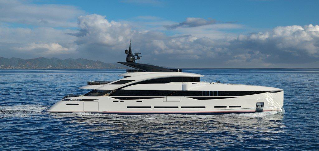ISA Yachts vende un nuovo 45 metri della linea Gran Turismo