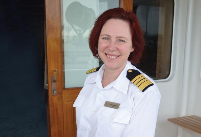 Regent Seven Seas Cruises festeggia l'8 marzo nominando Serena Melani comandante dell'ammiraglia della flotta