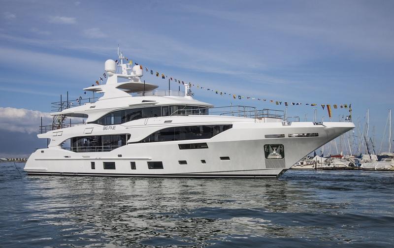Benetti vara tre yacht della categoria Class