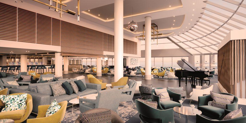 Il meglio del design britannico contemporaneo sarà a bordo di Spirit of Adventure