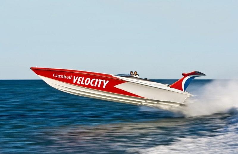 Arriva Carnival Velocity, consentirà crociere a 300 nodi di velocità
